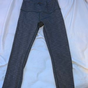 grey lululemon wunder under leggings